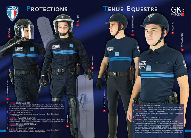 PROTECTIONS - TENUE EQUESTRE PM